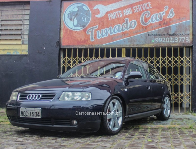 a3 1.8 20v 150cv turbo gasolina 4p automatico 2003 caxias do sul
