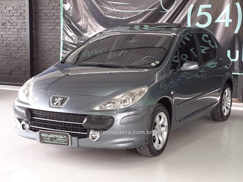 307 2.0 griffe 16v gasolina 4p automatico 2008 caxias do sul