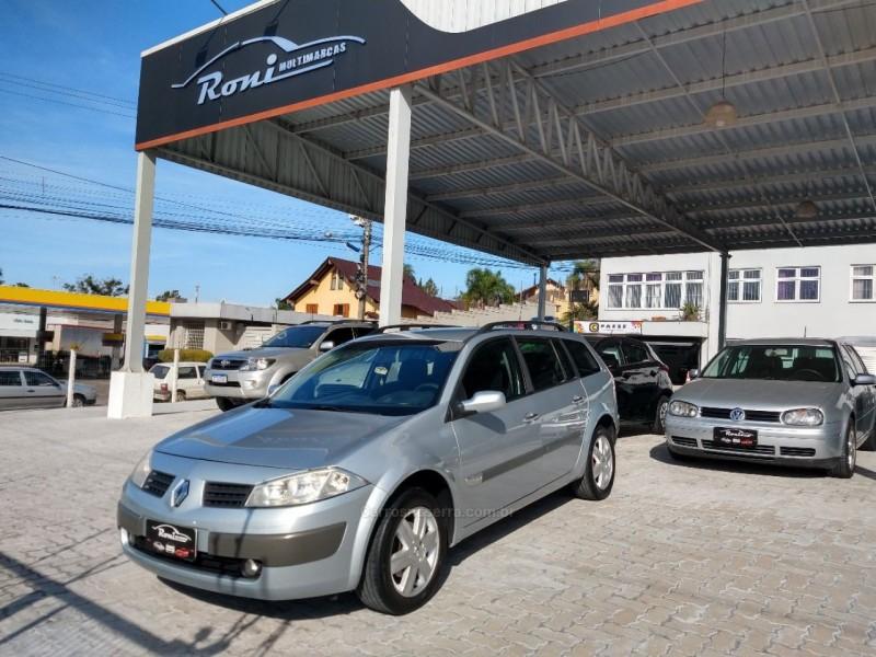 megane 2.0 dynamique grand tour 16v gasolina 4p manual 2007 bento goncalves