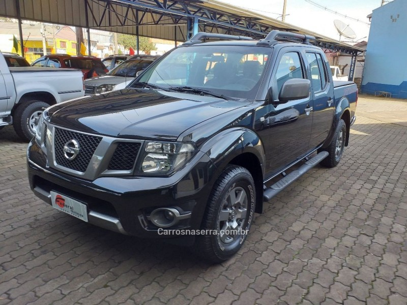 frontier 2.5 sv attack 4x4 cd turbo eletronic diesel 4p manual 2015 caxias do sul
