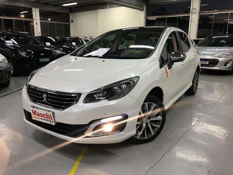 308 1.6 roland garros thp 16v gasolina 4p automatico 2018 caxias do sul
