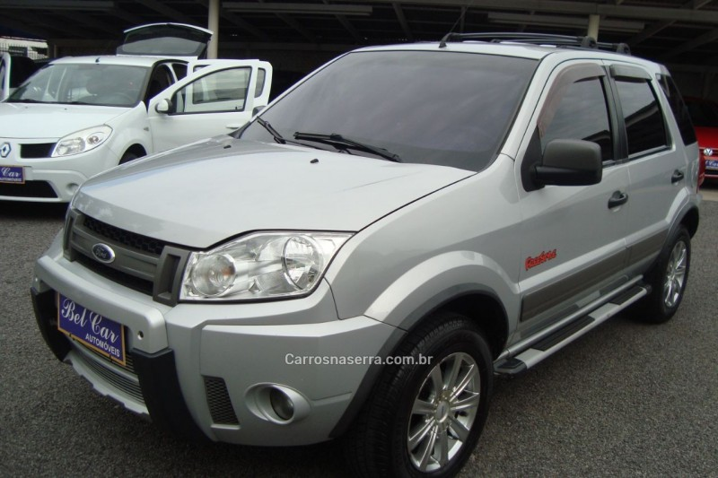 ecosport 1.6 xlt 8v flex 4p manual 2008 caxias do sul