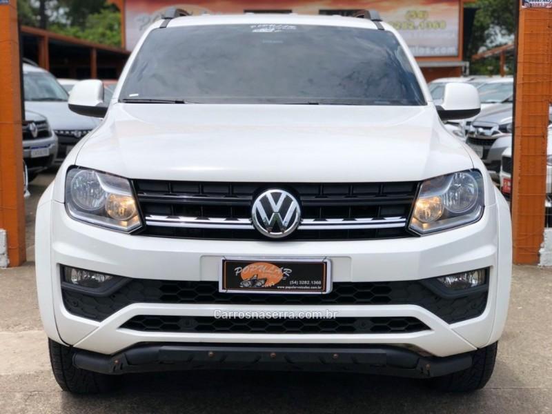 amarok 2.0 trendline 4x4 cd 16v turbo intercooler diesel 4p automatico 2018 canela