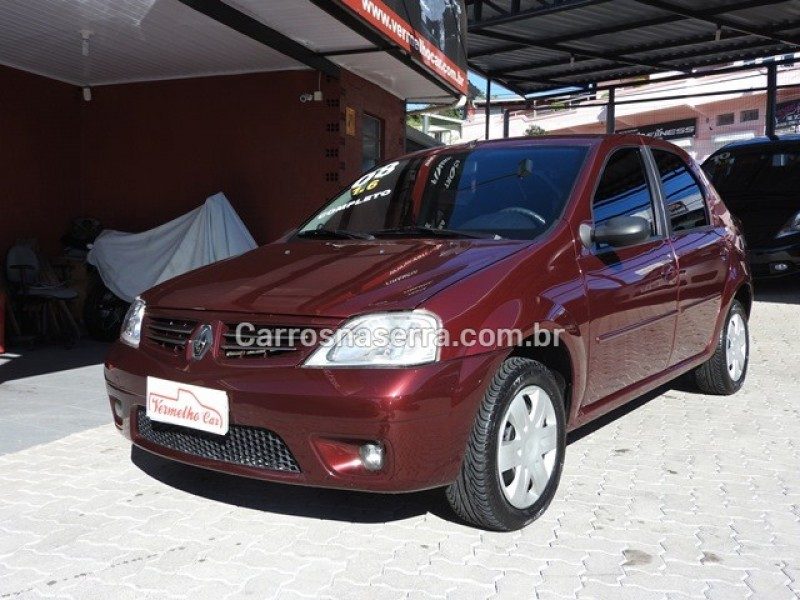 logan 1.6 privilege 16v flex 4p manual 2008 caxias do sul