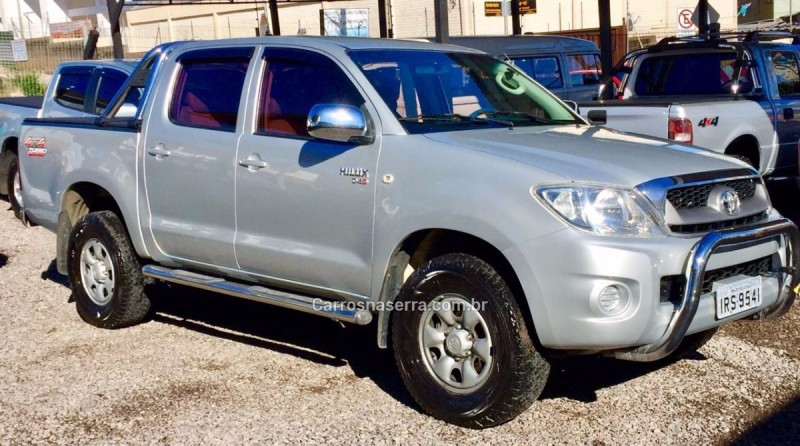 hilux 2.5 4x4 cd 16v turbo diesel 4p manual 2011 caxias do sul