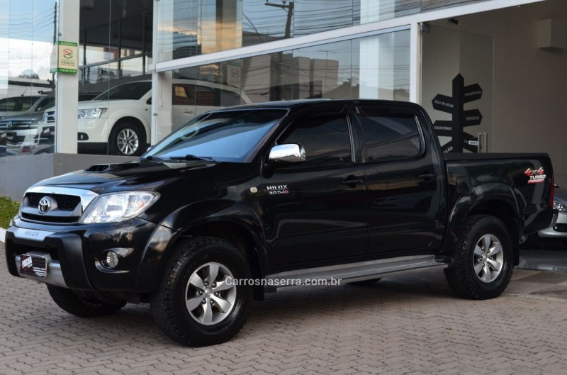 hilux 3.0 srv 4x4 cd 16v turbo intercooler diesel 4p manual 2010 caxias do sul