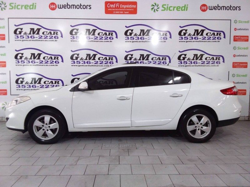 fluence 2.0 dynamique plus 16v flex 4p automatico 2014 sao sebastiao do cai