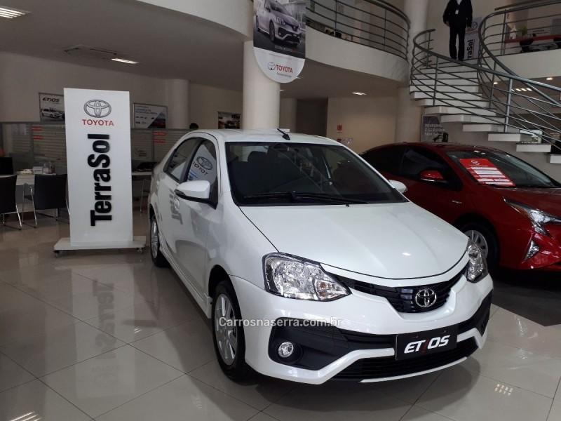 etios 1.5 xls sedan 16v flex 4p automatico 2018 caxias do sul