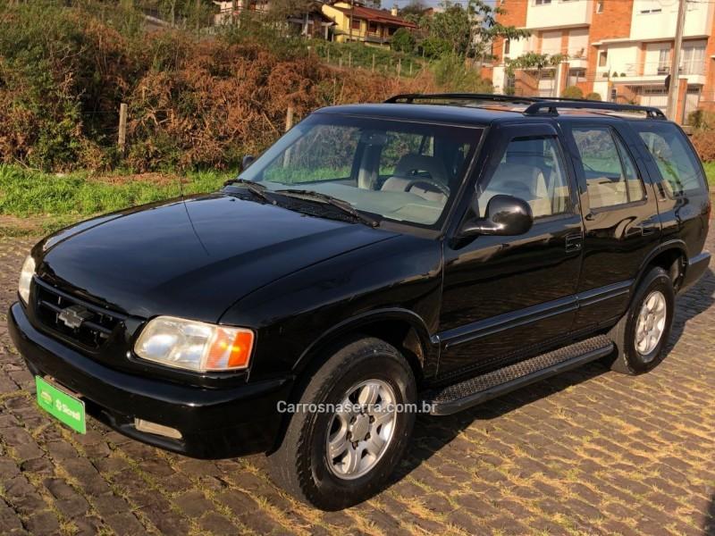 blazer 2.2 efi dlx 4x2 8v gasolina 4p manual 1996 caxias do sul