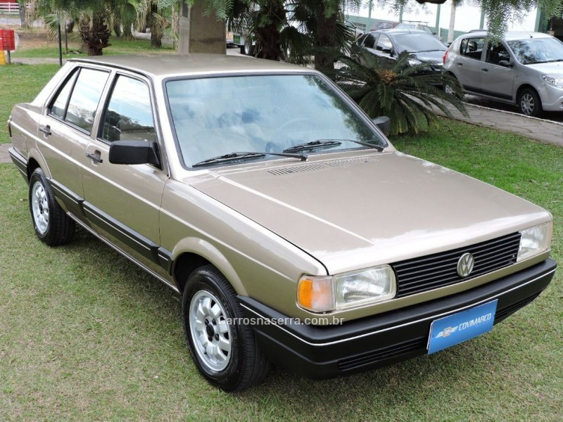 VOYAGE 1.8 GL 8V GASOLINA 4P MANUAL - 1992 - SãO MARCOS