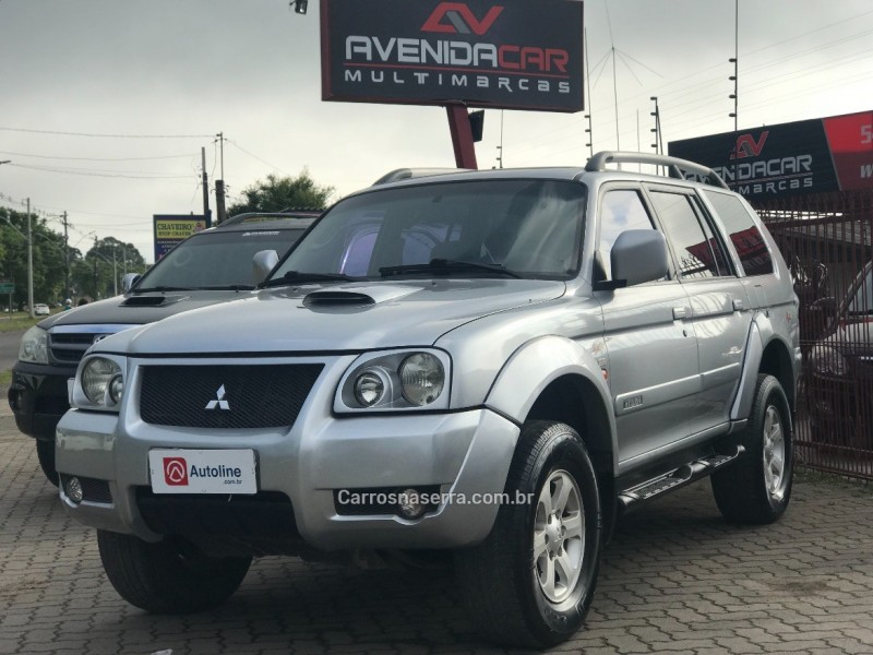 pajero sport 2.8 hpe 4x4 8v turbo intercooler diesel 4p manual 2007 canela