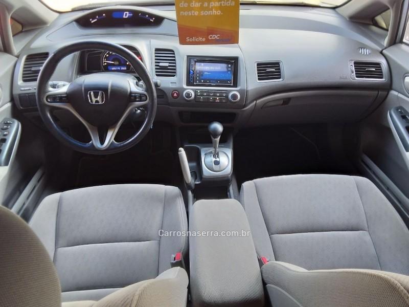 CIVIC 1.8 LXL 16V FLEX 4P AUTOMÁTICO - 2011 - SãO SEBASTIãO DO CAí