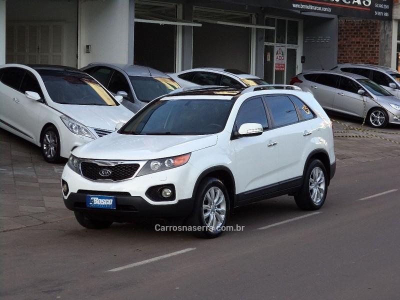 sorento 2.4 ex2 4x2 16v gasolina 4p 7 lugares automatico 2011 guapore