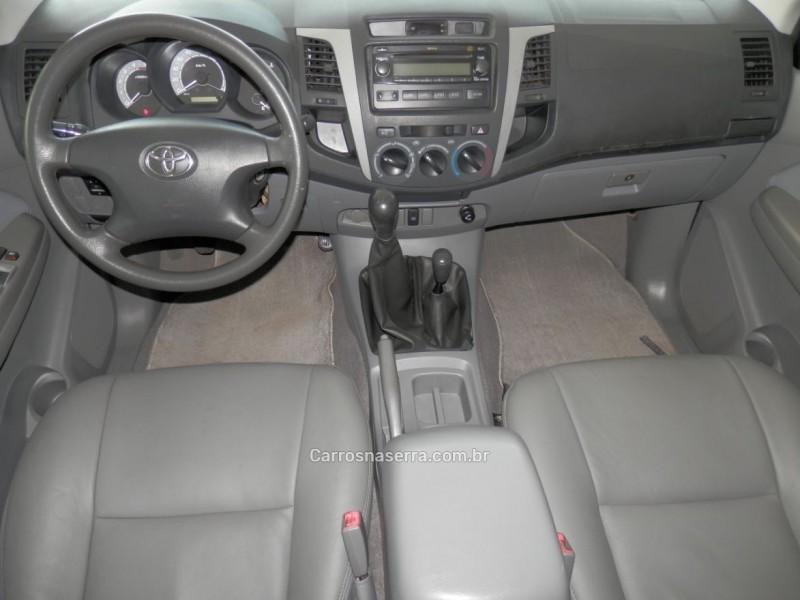 hilux 3.0 srv 4x4 cd 16v turbo diesel 4p manual 2008 erechim