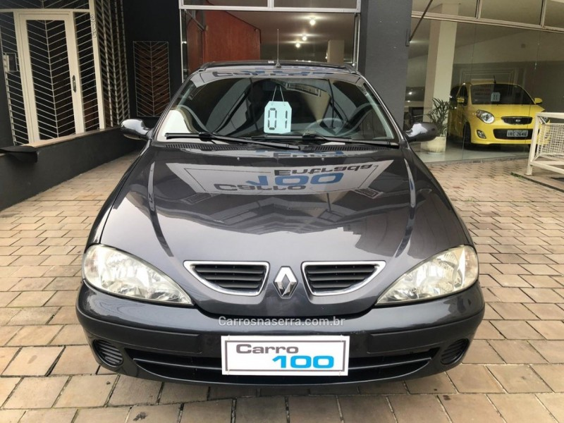 megane 1.6 rt 16v gasolina 4p manual 2001 caxias do sul