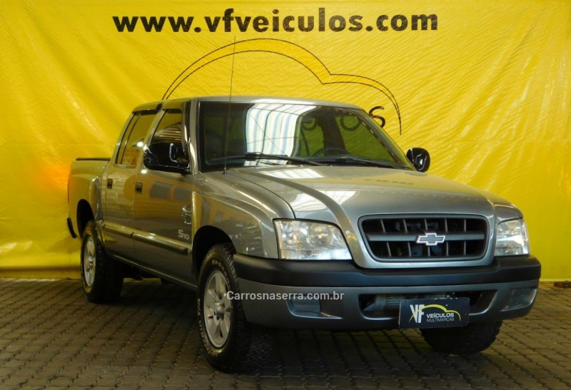 s10 2.8 std 4x2 cd 12v turbo intercooler diesel 4p manual 2004 caxias do sul