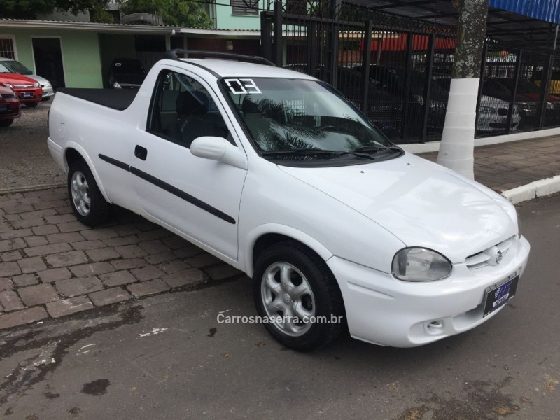 corsa 1.6 mpfi gl cs pick up 8v gasolina 2p manual 2003 caxias do sul