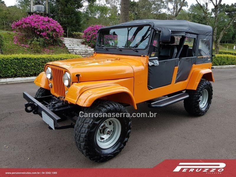 jeep 1962 nova prata