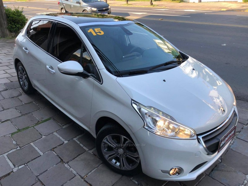 208 1.6 griffe 16v flex 4p manual 2015 caxias do sul