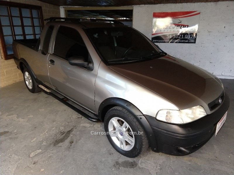 strada 1.6 mpi adventure ce 16v gasolina 2p manual 2002 caxias do sul