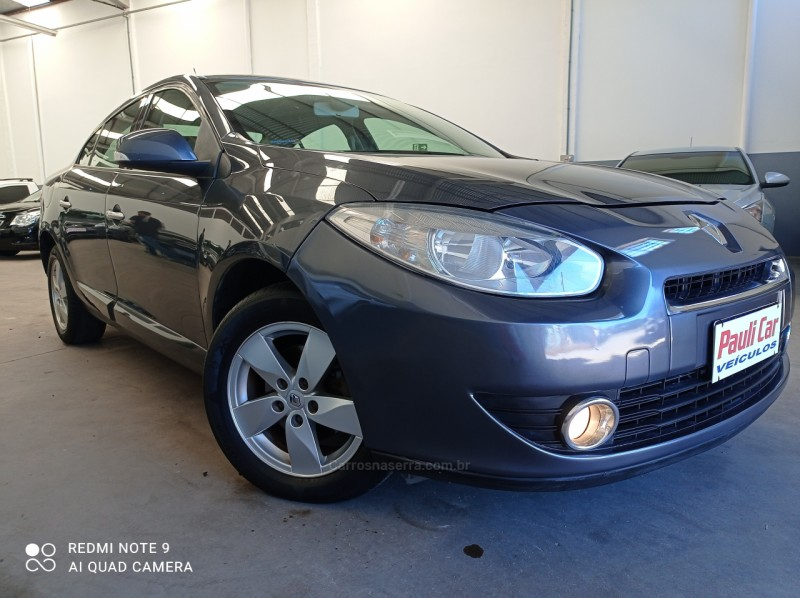 fluence 2.0 dynamique plus 16v flex 4p automatico 2011 caxias do sul