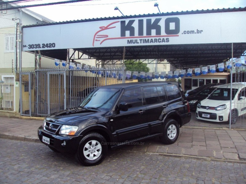 pajero 3.0 gls 4x4 v6 24v gasolina 4p automatico 2003 caxias do sul