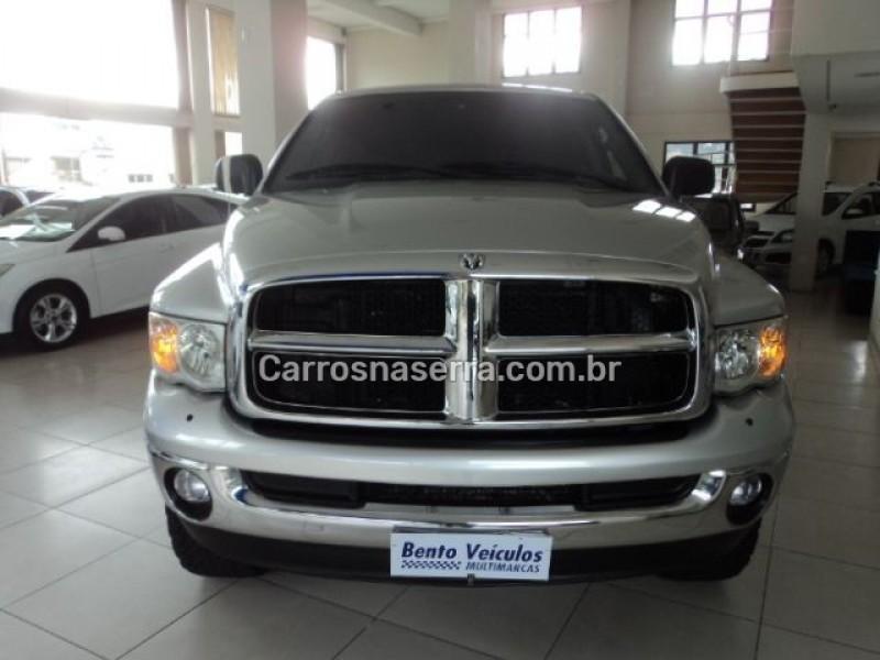 ram 5.9 2500 slt 4x4 cd i6 24v turbo diesel 4p automatico 2005 bento goncalves