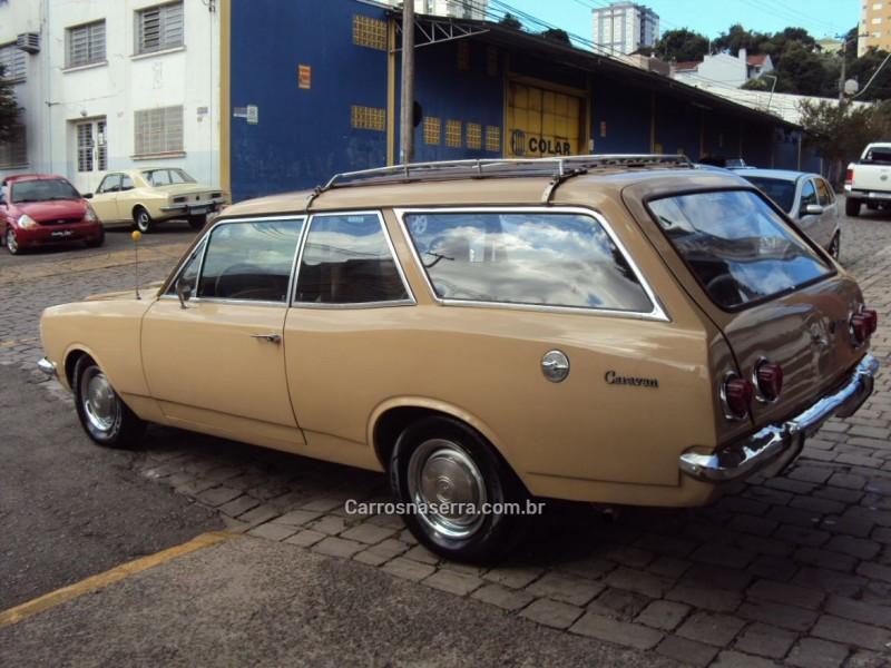 CARAVAN 2.5 L 8V GASOLINA 2P MANUAL - 1979 - CAXIAS DO SUL