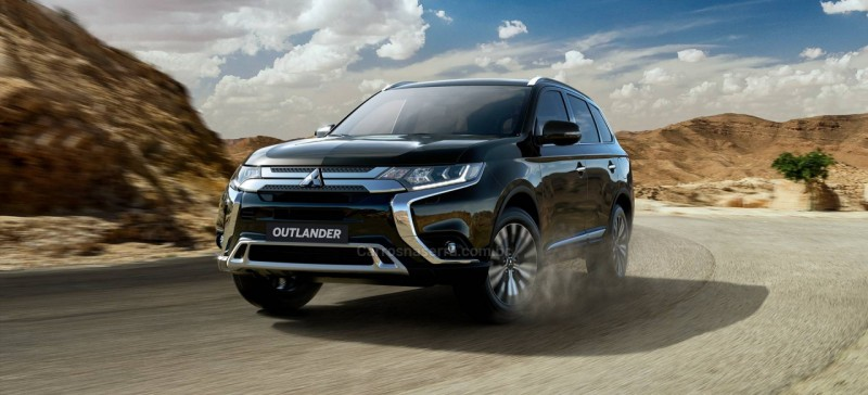 outlander 2.0 16v gasolina 4p automatico 2021 vacaria