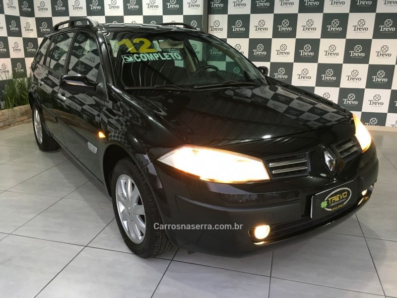 megane 1.6 dynamique grand tour 16v flex 4p manual 2012 taquara