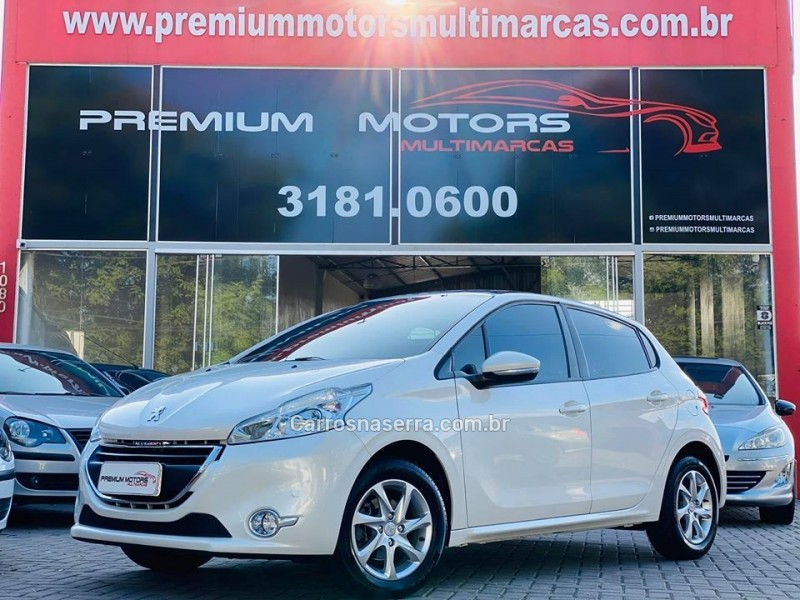 208 1.5 allure 8v flex 4p manual 2014 estancia velha