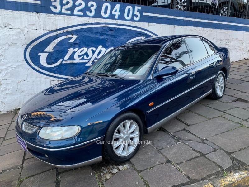 omega 3.8 sfi cd v6 12v gasolina 4p automatico 1999 caxias do sul