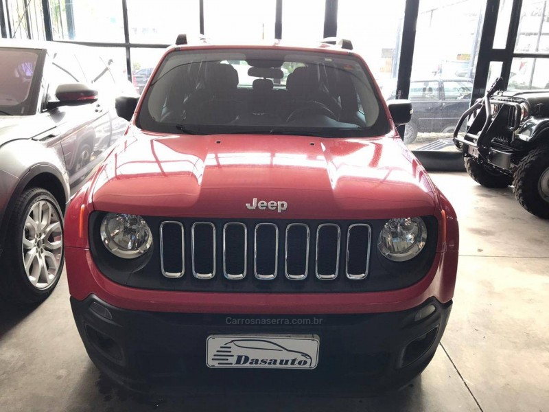 renegade 1.8 16v flex sport 4p manual 2016 caxias do sul