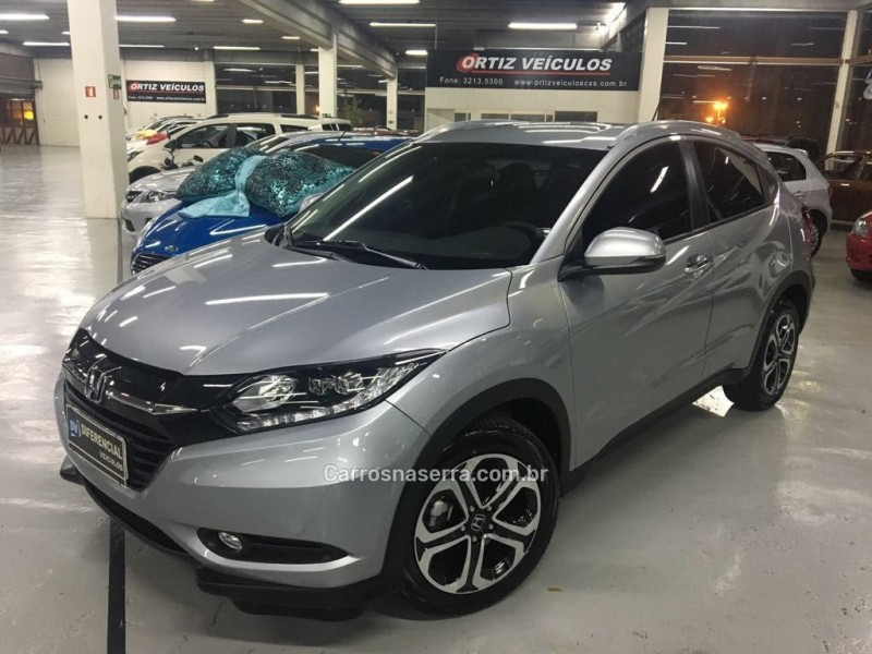 hr v 1.8 16v flex touring 4p automatico 2018 caxias do sul