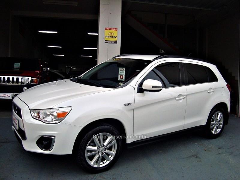 ASX 2.0 4X4 AWD 16V GASOLINA 4P AUTOMÁTICO - 2013 - CAXIAS DO SUL