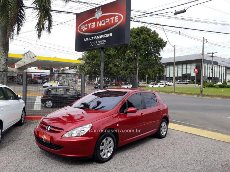 307 2.0 rallye 16v gasolina 4p automatico 2005 caxias do sul