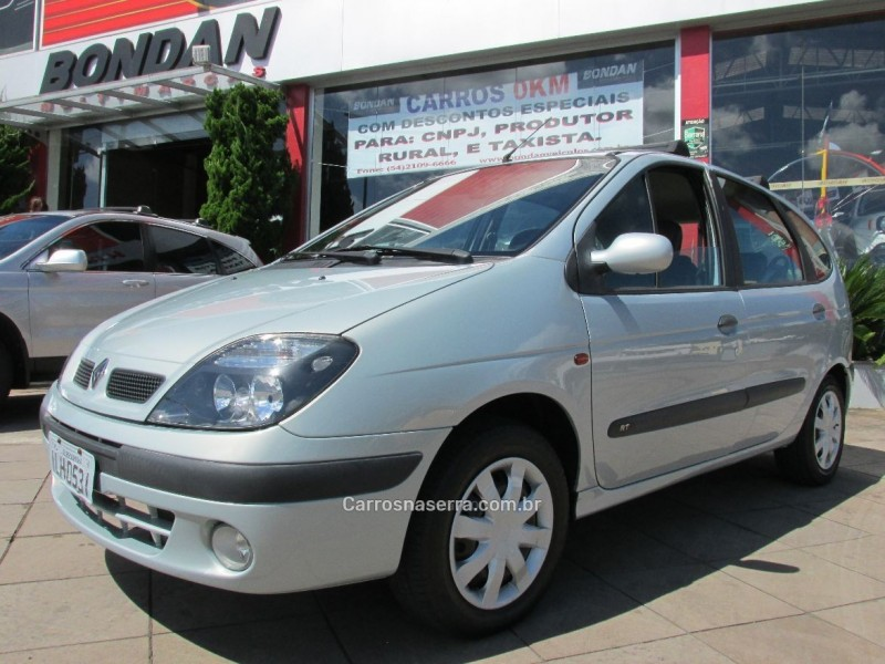 scenic 1.6 rt 16v gasolina 4p manual 2003 farroupilha