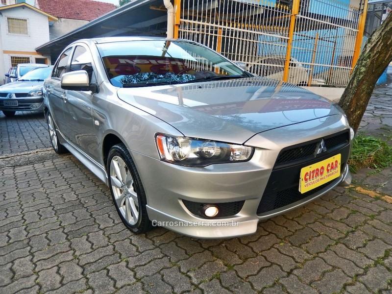 lancer 2.0 cvt 16v gasolina 4p automatico 2013 caxias do sul