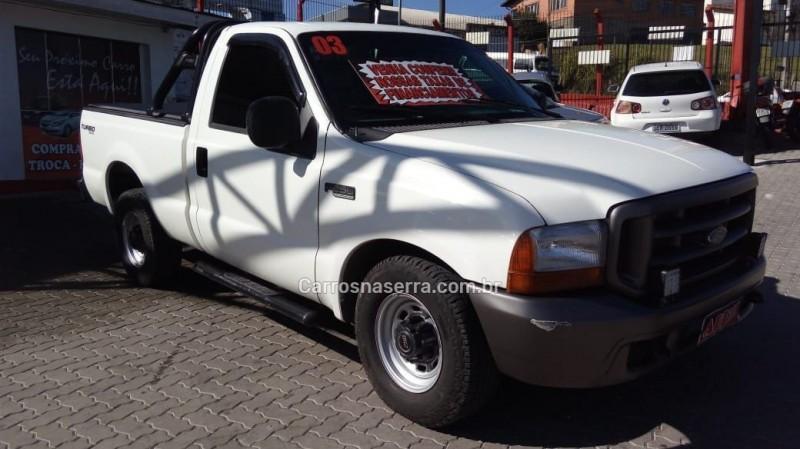 f 250 4.3 xll 4x2 cs diesel 2p manual 2003 caxias do sul