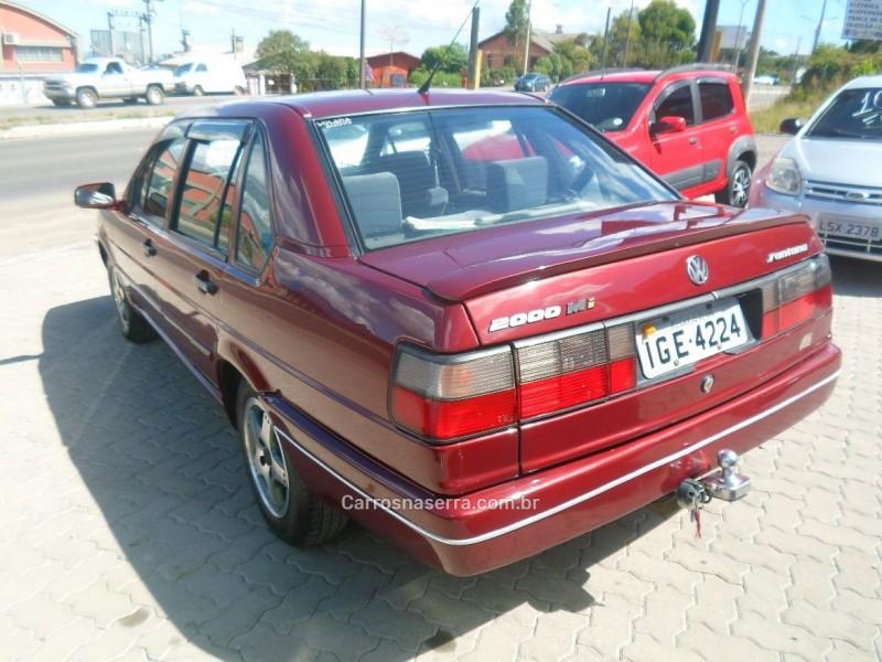 santana 2.0 mi exclusiv 8v gasolina 4p manual 1997 caxias do sul
