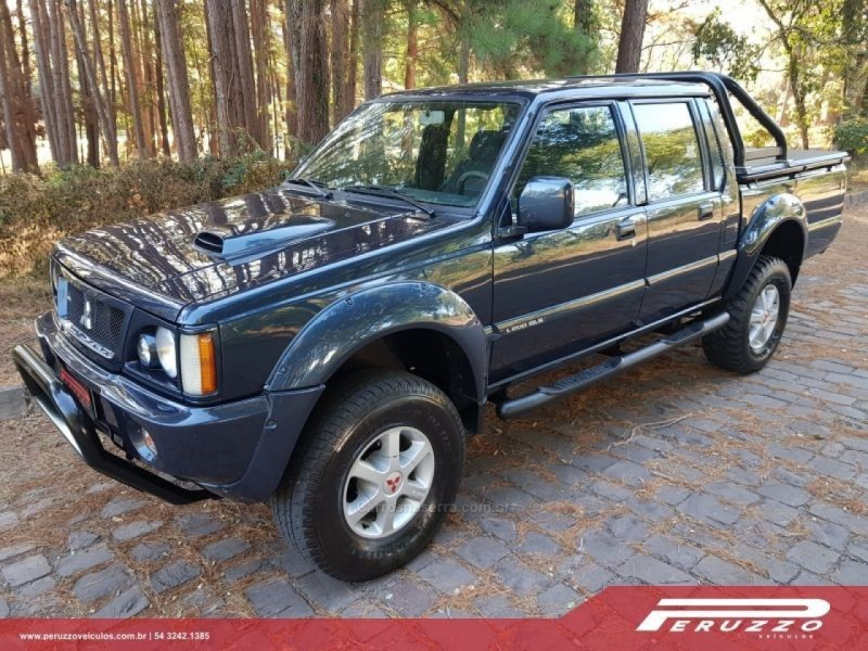 l200 2.5 gls 4x4 cd 8v turbo diesel 4p manual 2002 nova prata