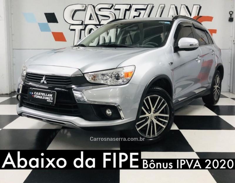 asx 2.0 4x4 awd 16v gasolina 4p automatico 2018 caxias do sul