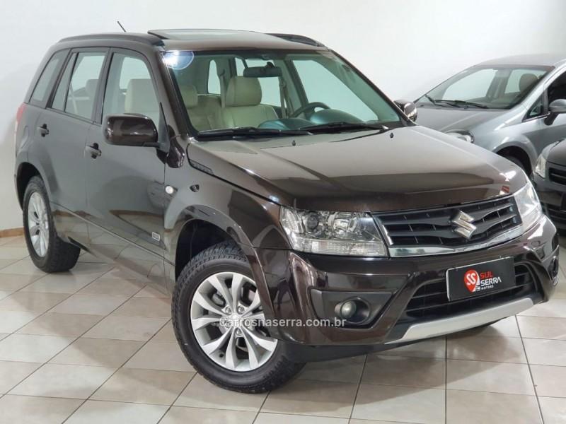 grand vitara 2.0 limited edition 4x2 16v gasolina 4p automatico 2013 caxias do sul