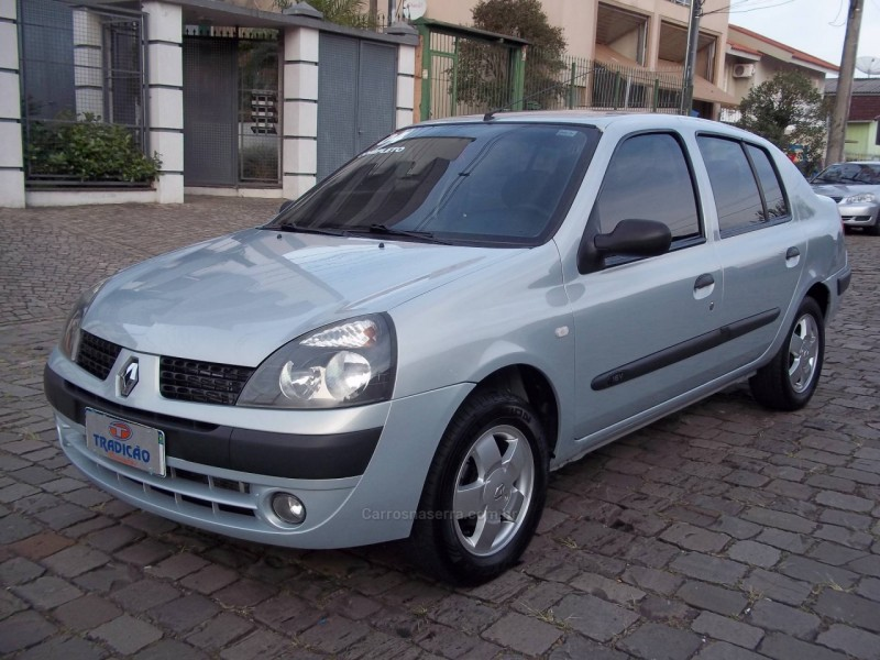 clio 1.0 privilege sedan 16v gasolina 4p manual 2004 caxias do sul