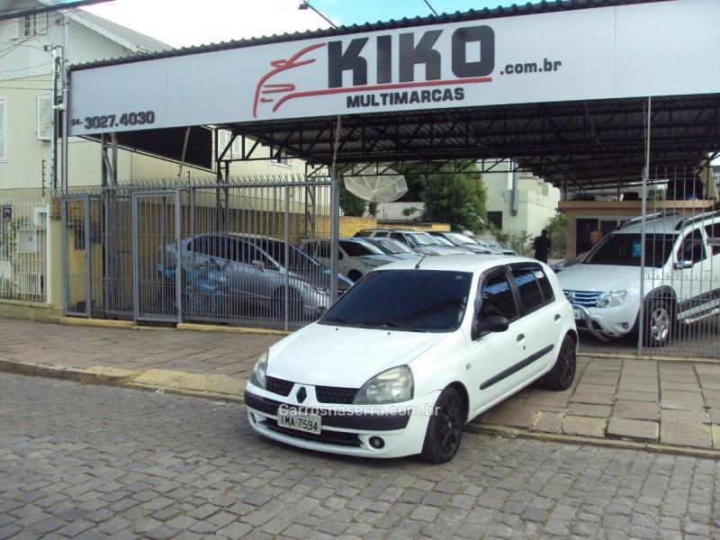 clio 1.0 authentique 8v gasolina 4p manual 2004 caxias do sul