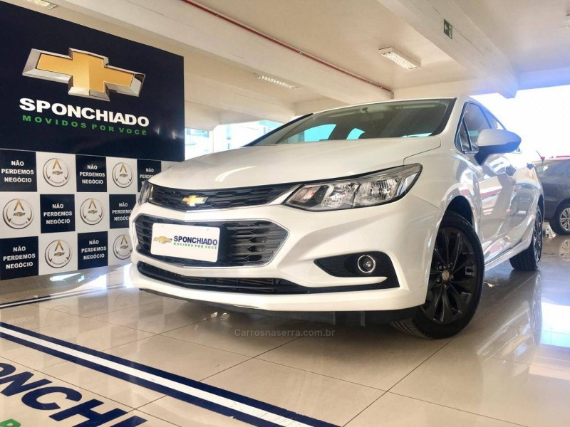 cruze 1.4 turbo lt 16v flex 4p automatico 2017 caxias do sul