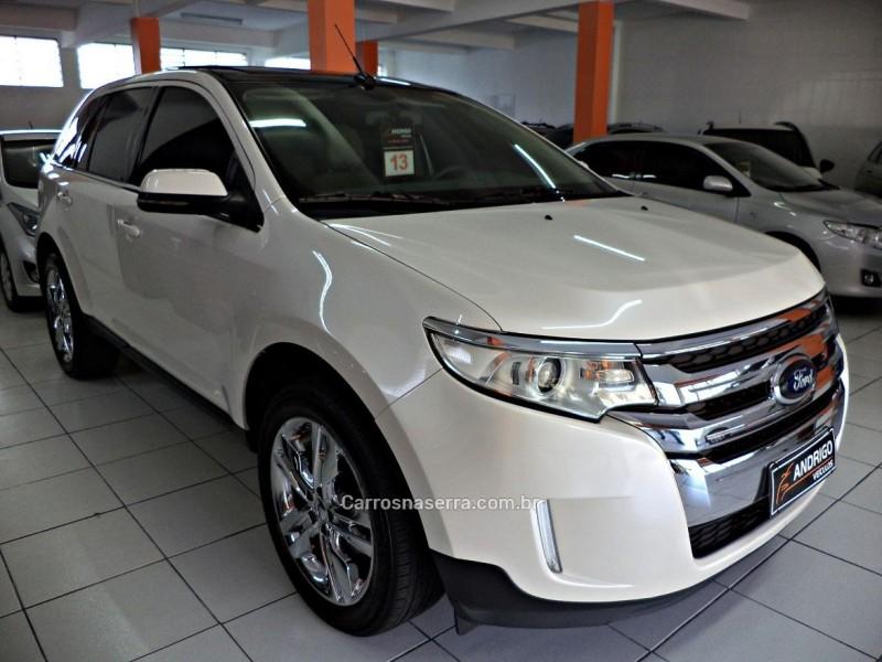 edge 3.5 limited fwd v6 24v gasolina 4p automatico 2013 caxias do sul