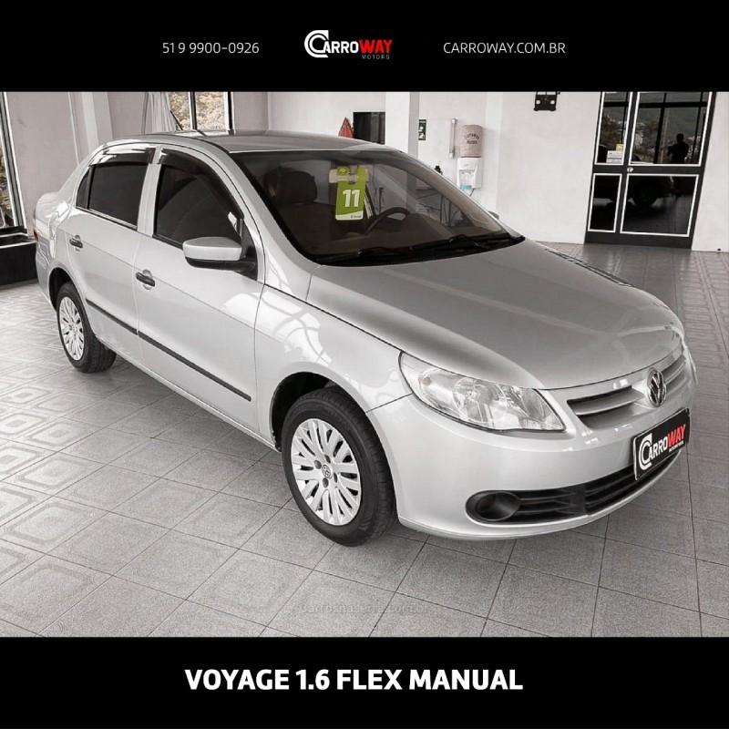 voyage 1.6 mi 8v flex 4p manual 2011 feliz