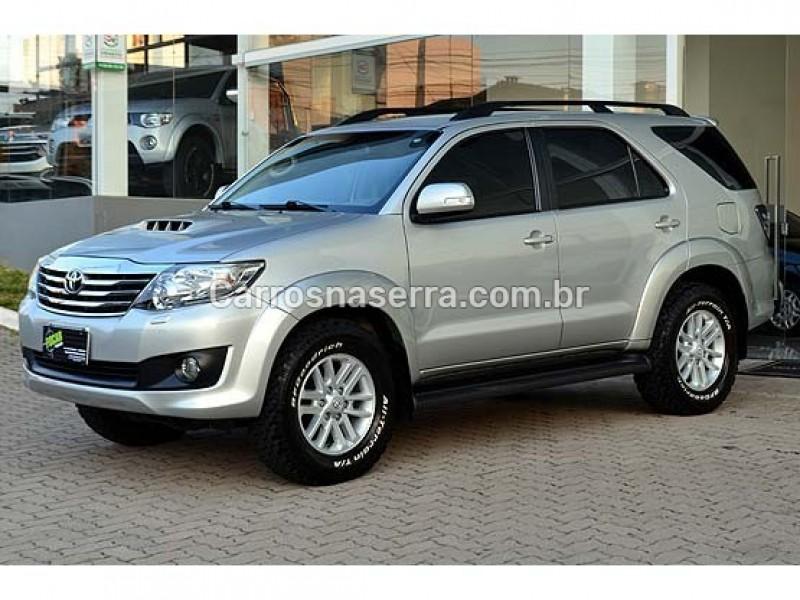 hilux sw4 3.0 srv 4x4 cd 16v turbo intercooler diesel 4p automatico 2013 caxias do sul