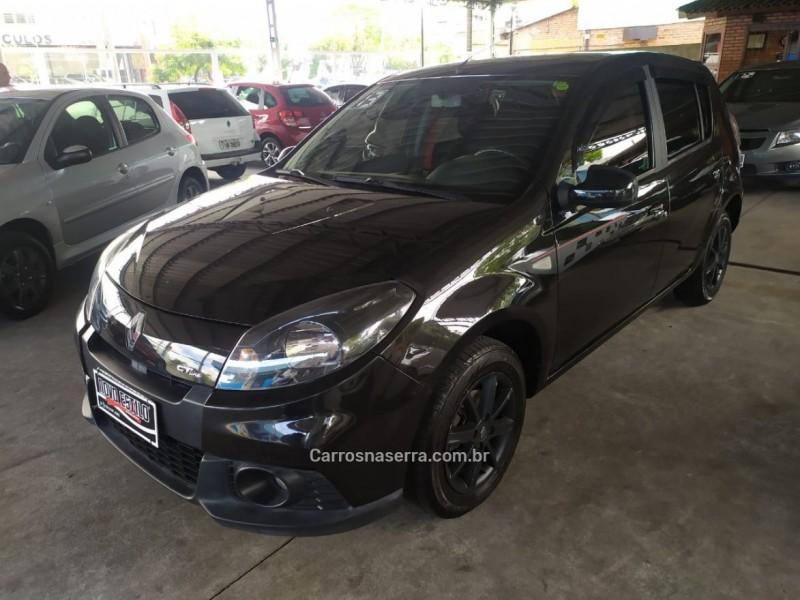 sandero 1.6 gt line limited flex 4p manual 2013 caxias do sul